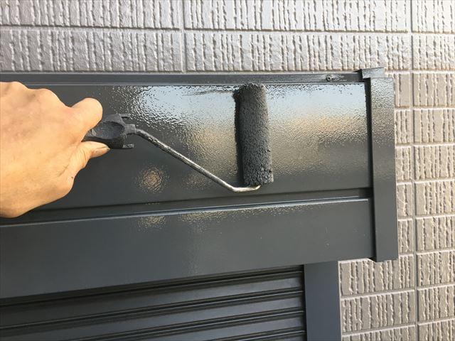 シャッタ-BOX塗装