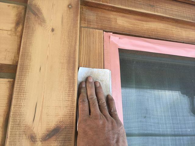 ウッドハウス塗装