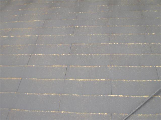 コロニアル屋根洗浄前