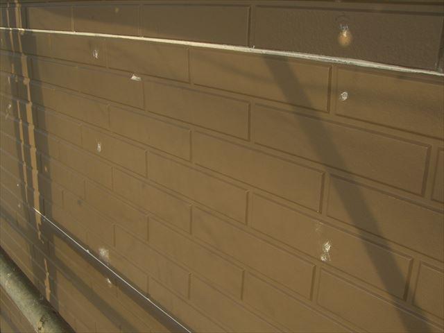 アレス ホルダ-Gで外壁補修