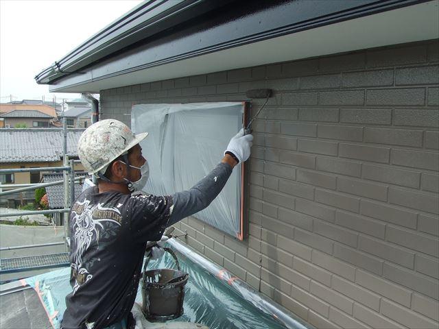 外壁仕上げ塗装スーパーセランマイルド無機塗料
