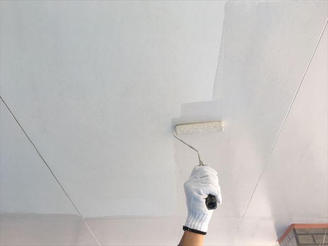 アレスセラマイルド天井塗装