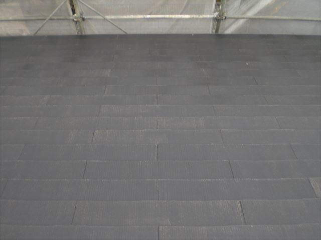 コロニアル屋根洗浄後