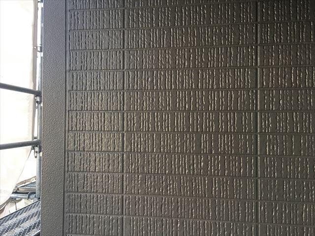 外壁上塗り仕上げ