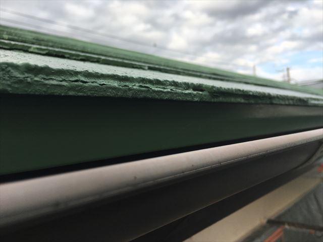 屋根鼻隠し塗装、ヤネフレッシュSI