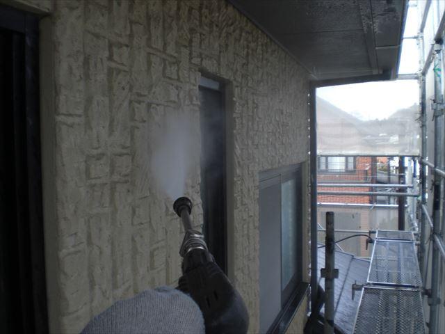 セラミック外壁洗浄