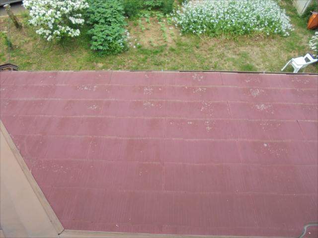 別荘の塗り替え 屋根の状態