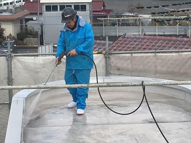 水戸市、アパート・マンション等の高圧洗浄作業について