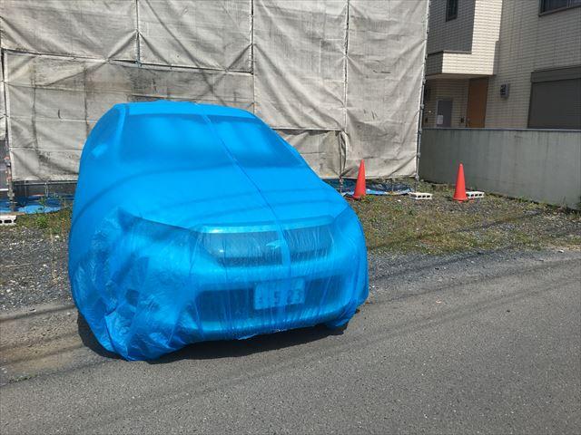 自動車養生カバー