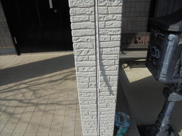茨城町 塗り替え工事 シーリングの劣化