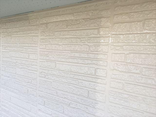 K邸壁上塗り