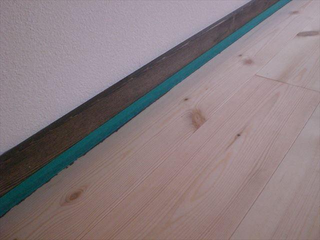 床塗装前養生 マスキングテープ