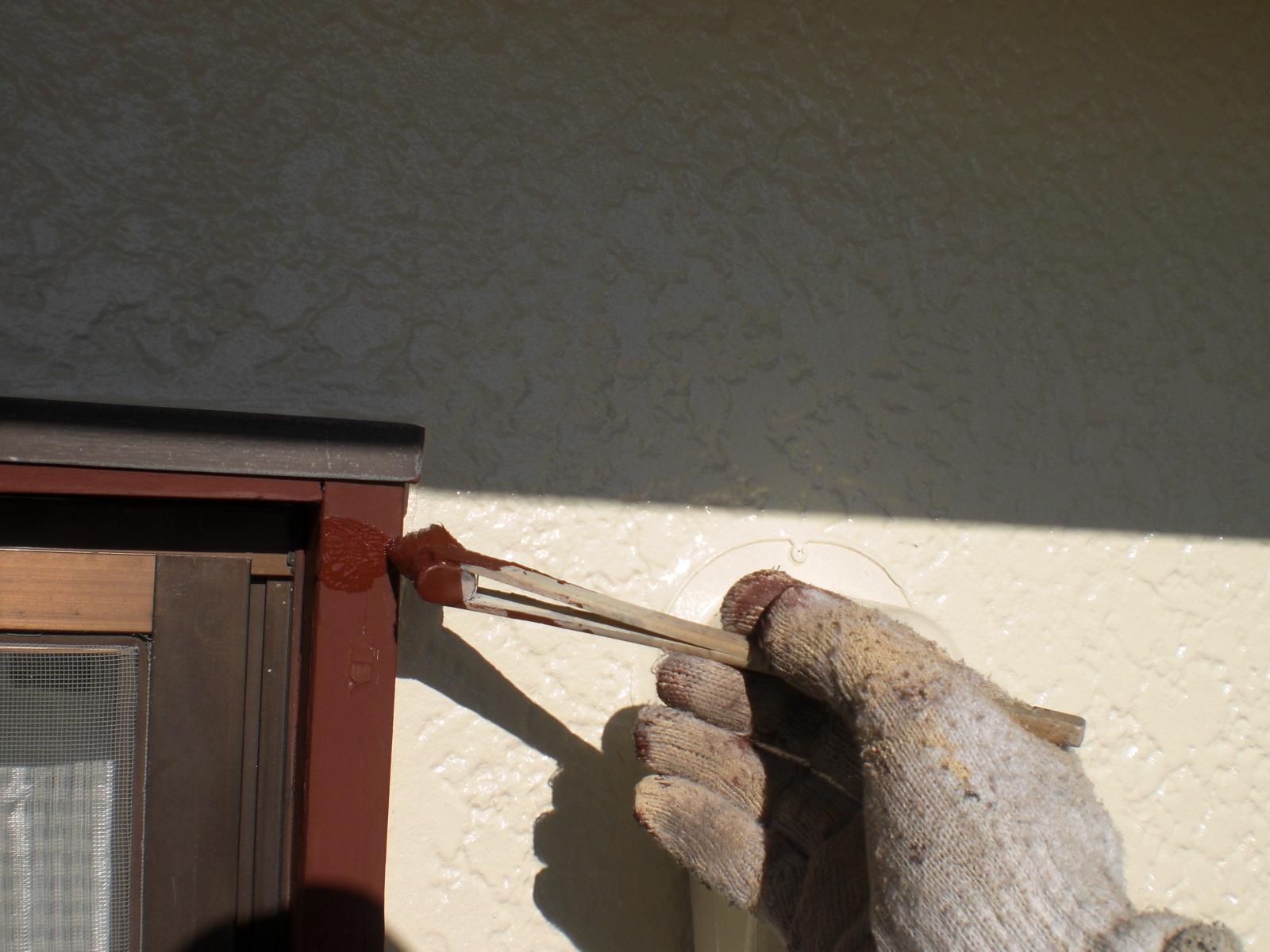 サッシ窓木枠