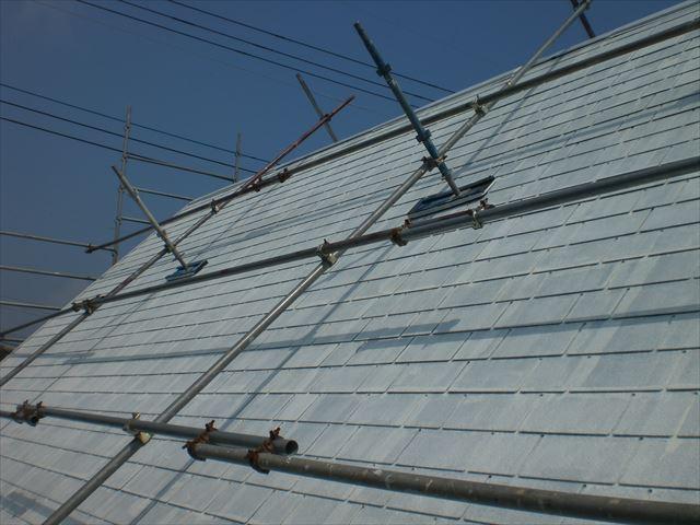 アーバニー屋根下塗り完了後