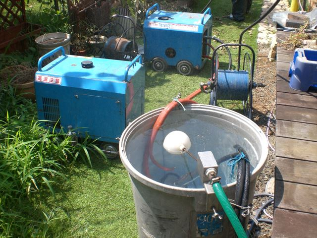 高圧洗浄機 フロート弁