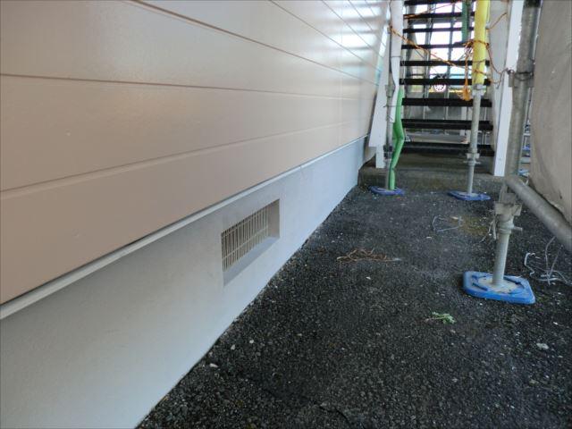 基礎塗装完了、ベースプロテクト