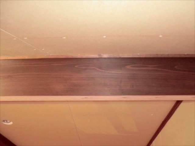 梁塗装、キシラデコール