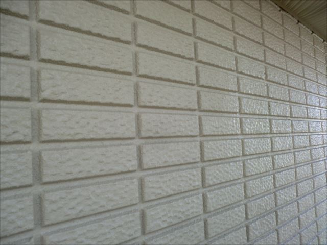 外壁塗装完了、プレミアムシリコン