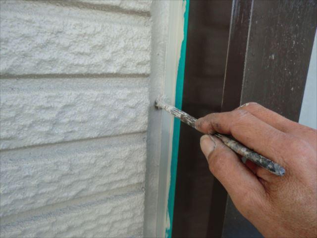 外壁ライン造り、プレミアムシリコン