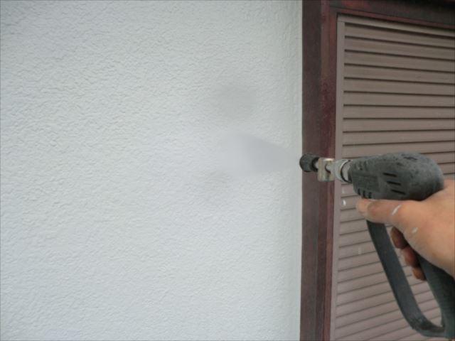 外壁、高圧洗浄