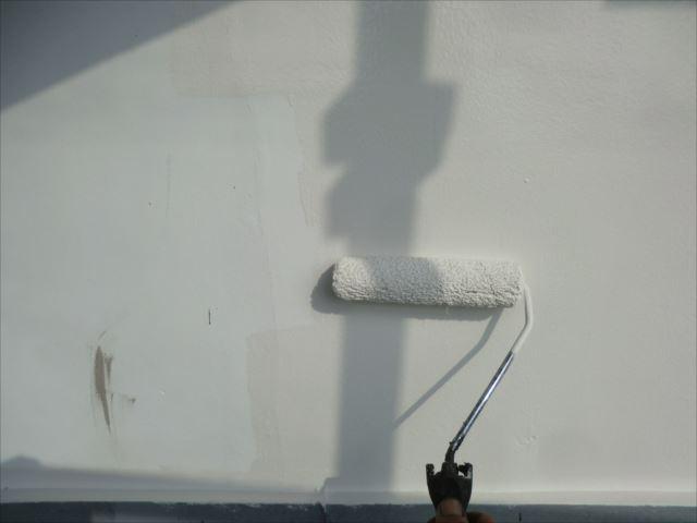 漆喰壁塗装、セラマイルド