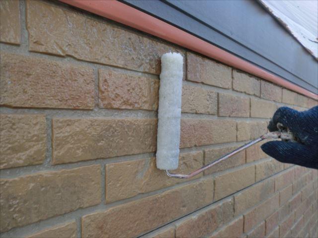 外壁下塗り、ダイヤSPRクリヤープライマー