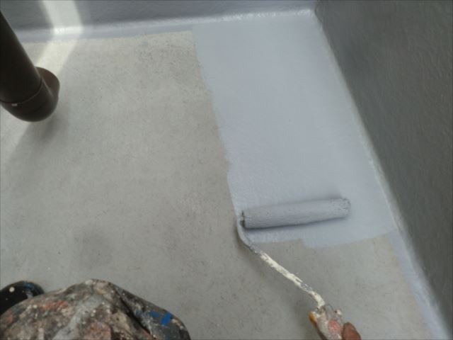 ベランダ防水、アトレーヌ