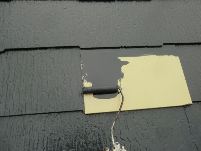 鉄板塗装、スーパーセランマイルドIR