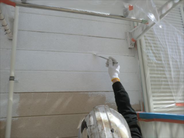 外壁下塗り、ソフトサーフSG