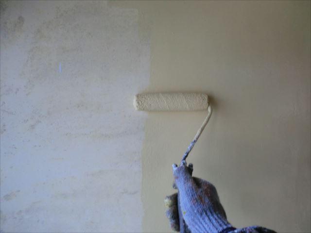 壁塗装、アレスセラマイルド