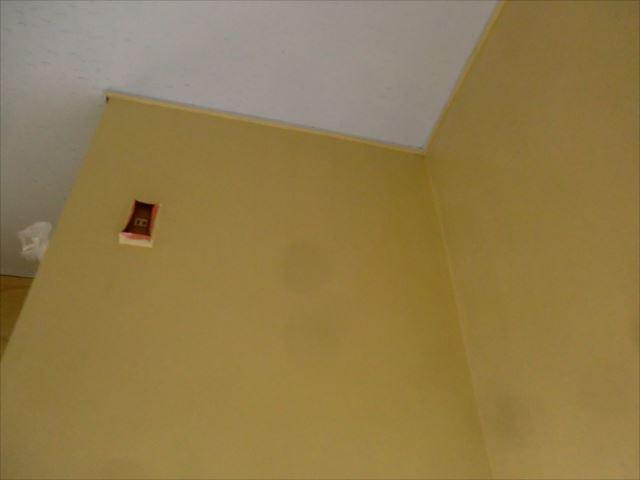 壁塗装後、アレスセラマイルド