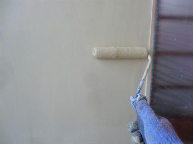 壁着色2回目仕上げ塗装、アレスセラマイルド