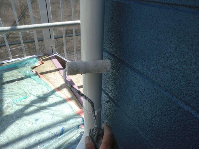 雨樋塗装、クリーンマイルドシリコン