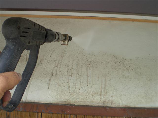 M邸 高圧洗浄 漆喰