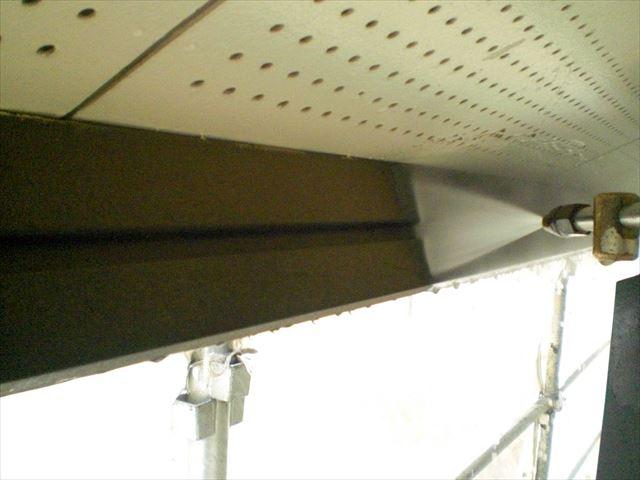 T邸 破風板高圧洗浄