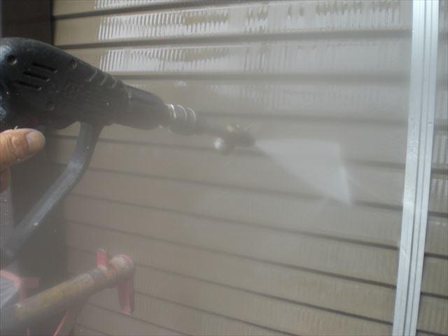 高圧洗浄 雨戸