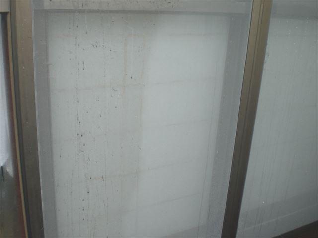 高圧洗浄 網戸