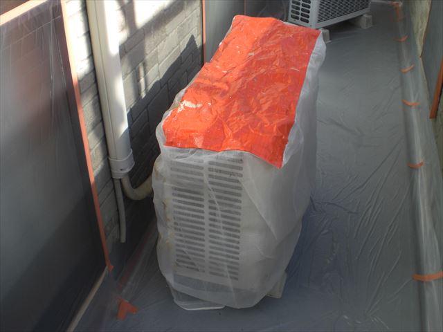 エアコン養生カバー