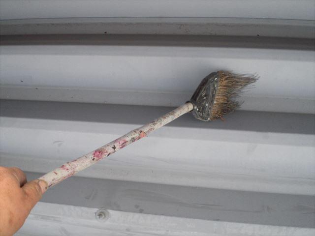 折板屋根清掃