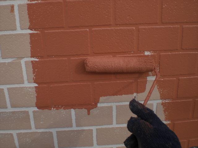 水性セラミシリコン中塗り
