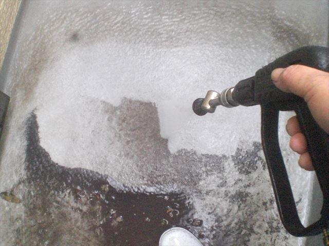 防水床洗浄