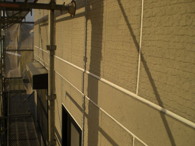 コロニアル屋根割れ補修