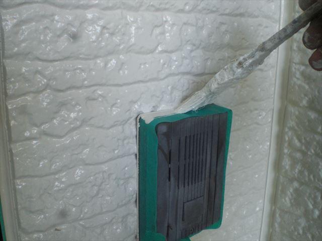 外壁補修ライン取り直し