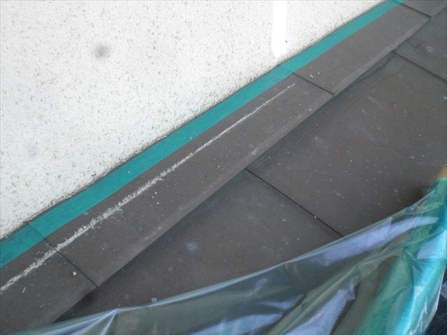 銅板屋根ノンスリップ養生