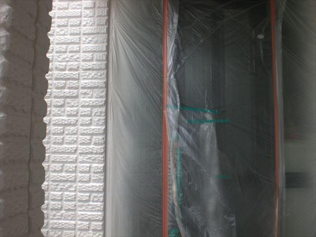 外壁多彩吹き付け仕上げ