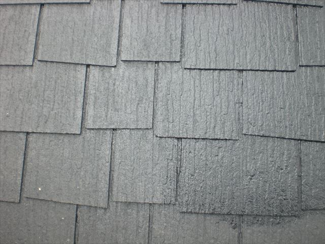 屋根仕上げ塗り
