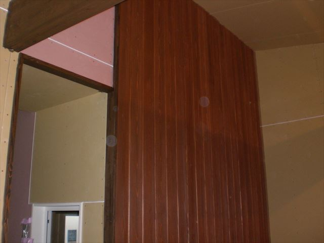内部 壁面塗装後