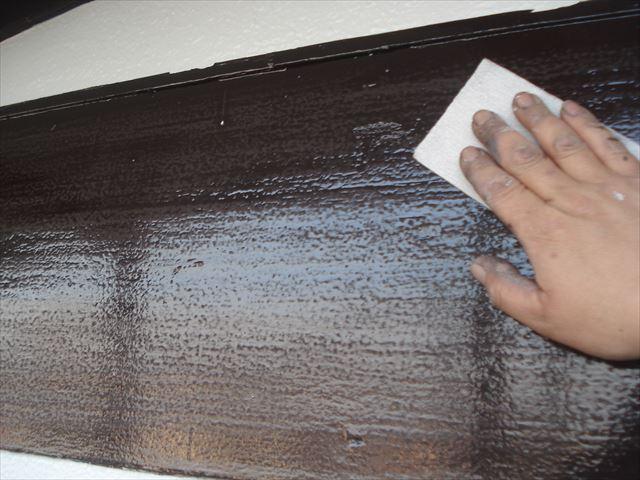 S邸幕板上塗り前ペーパー