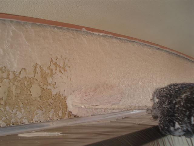 Y邸外壁下塗り