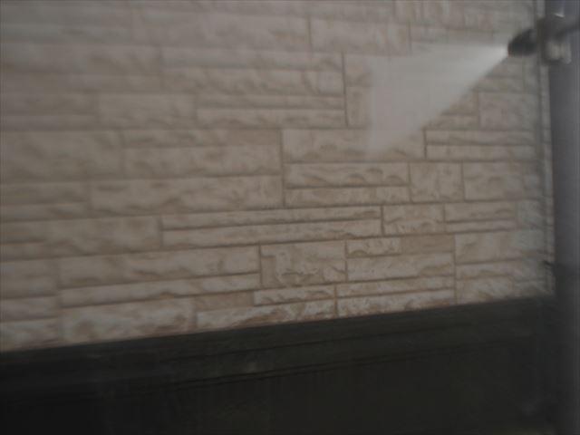 F邸壁洗浄